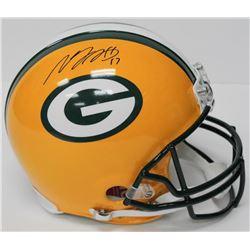 Davante Adams Signed Packers Full-Size Authentic On-Field Helmet (JSA COA)