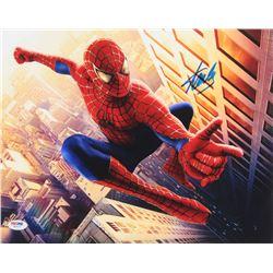 "Stan Lee Signed ""Spider-Man"" 11x14 Photo (PSA COA)"