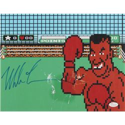 """Mike Tyson Signed """"Punch-Out!!"""" 11x14 Photo (JSA Hologram)"""