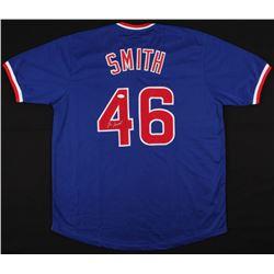 Lee Smith Signed Cubs Jersey (JSA Hologram)