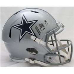 Amari Cooper Signed Cowboys Full-Size Speed Helmet (JSA COA)
