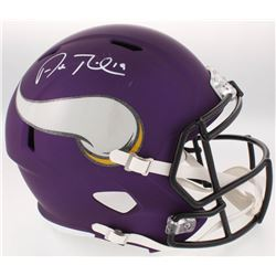 Adam Thielen Signed Vikings Full-Size Speed Helmet (JSA COA)