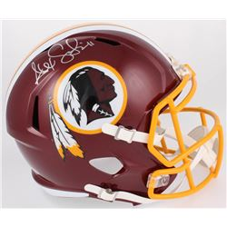 Alex Smith Signed Redskins Full-Size Speed Helmet (Beckett COA)