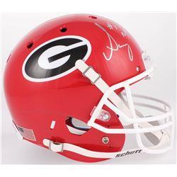 Sony Michel Signed Georgia Bulldogs Full-Size Helmet (JSA COA)