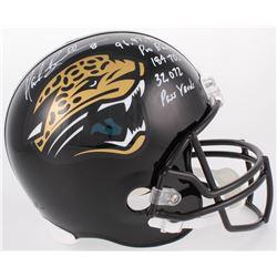 """Mark Brunell Signed Jaguars Full-Size Helmet Inscribed """"96, 97, 99 Pro Bowl"""", """"184 TDs""""  """"32,072 Pas"""