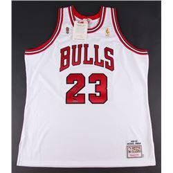 Michael Jordan Signed Limited Edition Bulls Mitchell  Ness Jersey (UDA COA)