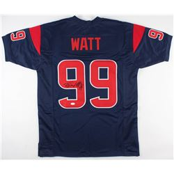J. J. Watt Signed Houston Texans Jersey (JSA COA)