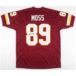 Santana Moss Signed Washington Redskins Jersey (JSA COA)