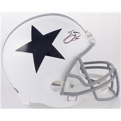 Emmitt Smith Signed Dallas Cowboys Full-Size Helmet (Beckett COA  PROVA COA)