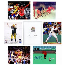 Multi Sports Signed Triple 8x10 Mystery Photo Collection – Series 1 (3 Autographed 8x10 Photos Per