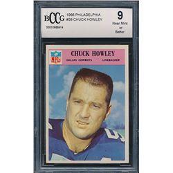 1966 Philadelphia #59 Chuck Howley RC (BCCG 9)