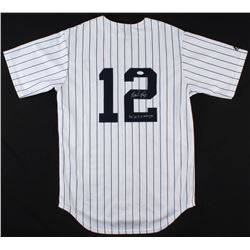 "Wade Boggs Signed New York Yankees Jersey Inscribed ""96 WS Champs"" (JSA COA)"