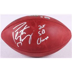 """Peyton Manning Signed LE """"The Duke"""" Official NFL Game Ball Inscribed """"2x SB Champ"""" (Steiner COA  Fan"""