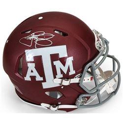 Johnny Manziel Signed Texas AM Aggies Full-Size Authentic On-Field Speed Helmet (Panini COA)