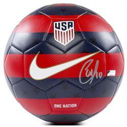 Christian Pulisic Signed 2018 Nike USA Prestige Soccer Ball (Panini COA)