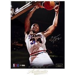 "Charles Barkley Signed 76ers ""Slam"" 16x20 Limited Edition Photo (Panini COA)"