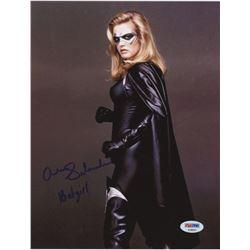 "Alicia Silverstone Signed ""Batman  Robin"" 8x10 Photo Inscribed ""Bat Girl""(PSA COA)"