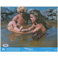 "Brooke Shields Signed ""The Blue Lagoon"" 8x10 Photo Inscribed ""Love-""  ""XX"" (PSA COA)"