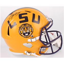 Odell Beckham Jr. Signed LSU Tigers Full-Size Speed Helmet (JSA COA)