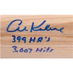 "Al Kaline Signed Rawlings Pro Baseball Bat Inscribed '399 HR's""  ""3,007 Hits"" (JSA COA)"