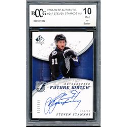 2008-09 SP Authentic #247 Steven Stamkos AU RC (BCCG 10)