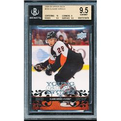 2008-09 Upper Deck #235 Claude Giroux YG RC (BGS 9.5)