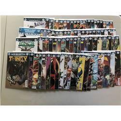 Lot of (164) Batman  Superman DC Universe Rebirth Comic Books