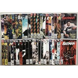 Lot of (59) 1995-2011 DC Batman Comic Books
