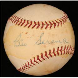 Bill Serena Signed ONL Baseball (JSA COA)