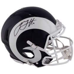 Jared Goff Signed Rams Full-Size Authentic On-Field Speed Helmet (Fanatics Hologram)