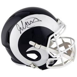 Todd Gurley Signed Rams Full-Size Speed Helmet (Fanatics Hologram)