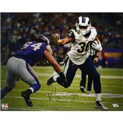 "Todd Gurley Signed Rams ""Stiff Arm"" 16x20 Photo (Fanatics Hologram)"
