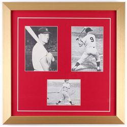 Roger Maris Signed Yankees 17x17 Custom Framed Photo Display (JSA LOA)