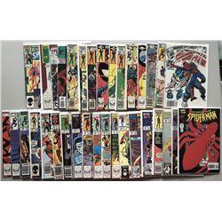 Lot of (34) Marvel Spectacular Spider-Man Comic Books