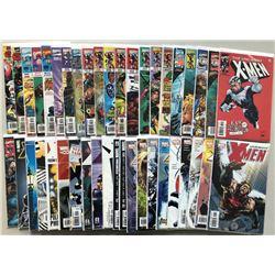 Lot of (55) 1997-2004 Uncanny X-Men 1st Series Comic Books