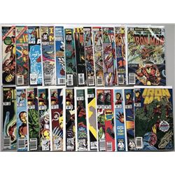 Lot of (48) 1999 Marvel Iron Man Comic Books