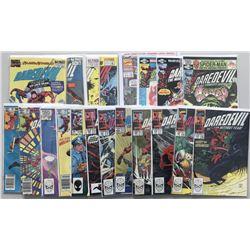 Lot of (48) 1980-1995 Marvel Daredevil Comic Books
