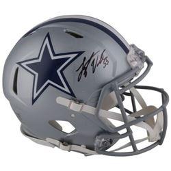 Leighton Vander Esch Signed Cowboys Full-Size Authentic On-Field Speed Helmet (Fanatics Hologram)
