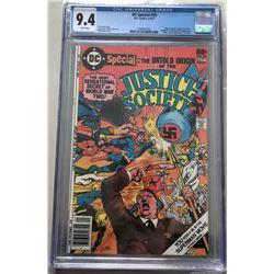 1977 DC Justice Society #29 Comic Book (CGC 9.4)