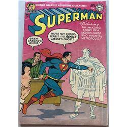 1954 DC Superman #91 1st Volume Comic Book
