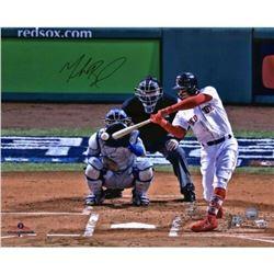 "Mookie Betts Signed Red Sox ""World Series"" 16x20 Photo (Fanatics Hologram  MLB Hologram)"
