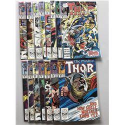Lot of (33) Marvel Thor 1st Series Comic Books