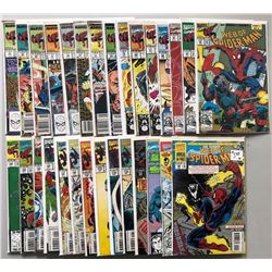 Lot of (29) Marvel Web of Spider-Man 1st Series Comic Books