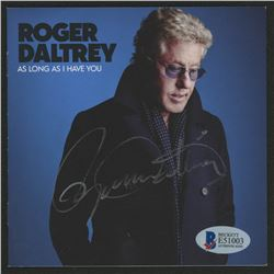 "Roger Daltrey Signed ""As Long As I Have You"" CD Booklet (Beckett COA)"
