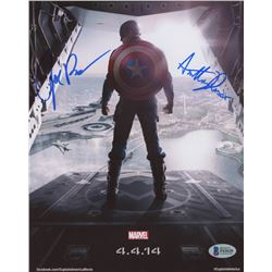 "Anthony  Joe Russo Signed ""Captain America; The Winter Soldier"" 8x10 Photo (Beckett Hologram)"