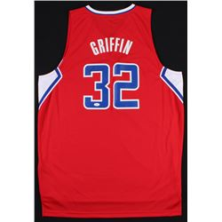Blake Griffin Signed Adidas Clippers Jersey (JSA COA)