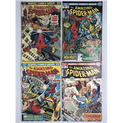 Lot of (4) 1973 Marvel Amazing Spider-Man 1st Series Series Comic Books with #123 #124 #125  #126