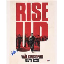 """Chandler Riggs Signed """"The Walking Dead"""" 11x14 Photo (PSA COA)"""
