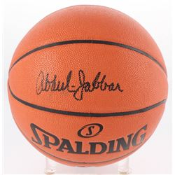 Kareem Abdul-Jabbar Signed NBA Game Ball Series Basketball (Radtke COA)