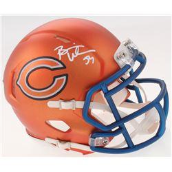 Brian Urlacher Signed Bears Blaze Speed Mini-Helmet (Radtke COA)